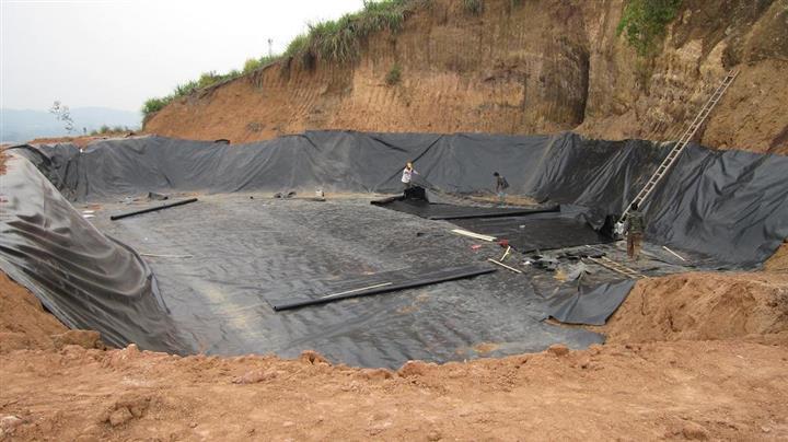 HDPE土工膜价格 图片应用范围