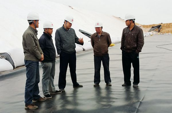 内蒙古土工膜蒸发塘项目